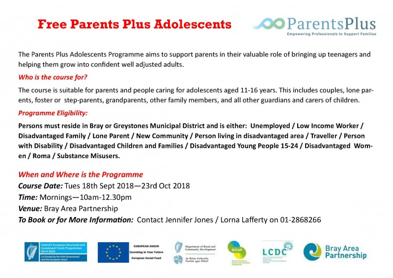 Parenting Adolescents poster