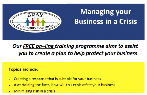 Managing Your Business in a Crisis poster