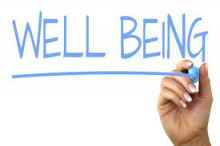Image of the word well-being